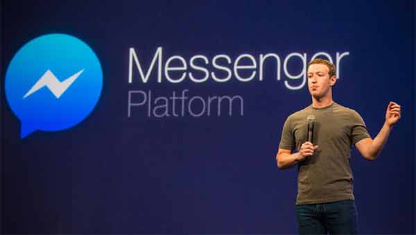 App di messaggistica a guidarle è Messenger