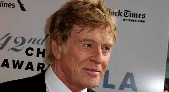 Robert Redford morto bufala 2016