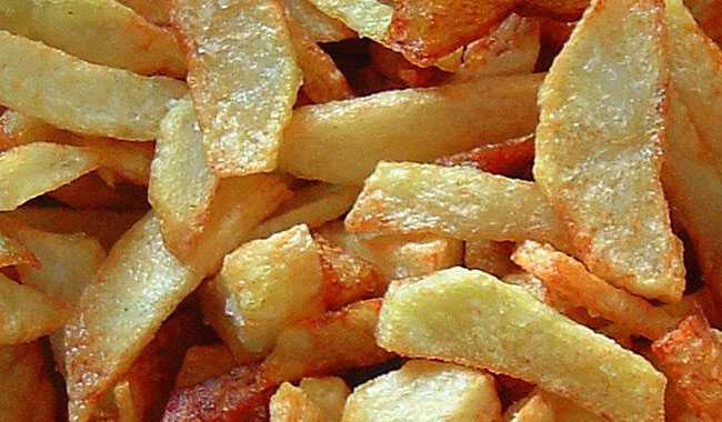 patatine fritte acrilammide