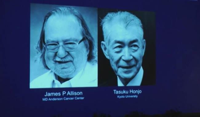 Premio Nobel per la medicina 2018 a Honjo e Allison