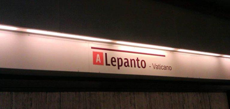 Roma, 35 enne investita dalla metro a Lepanto