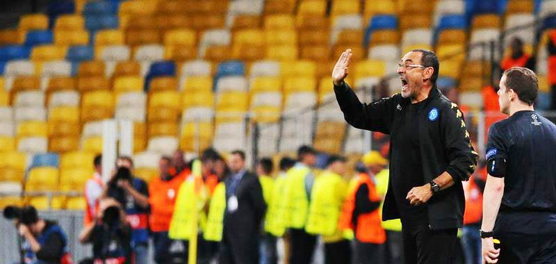 Maurizio Sarri andra ad allenare la Juventus