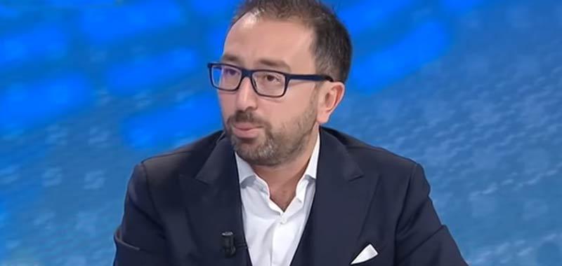 Alfonso Bonafede scivola nuovamente in un intervista