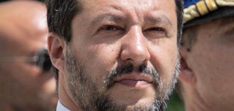Le Sardine in piazza a Roma contro Salvini