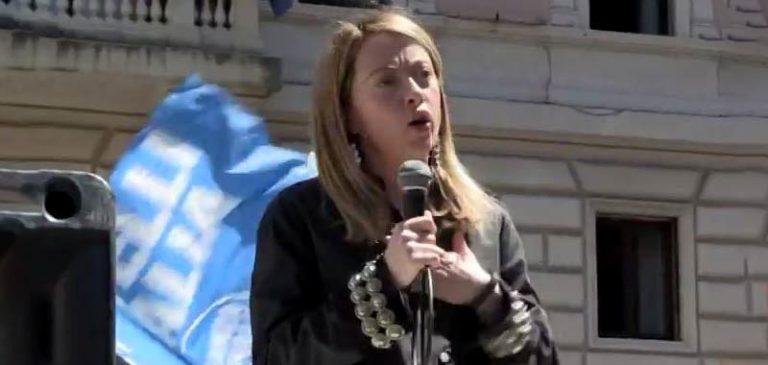 Giorgia Meloni pronta ad andare a votare a primavera