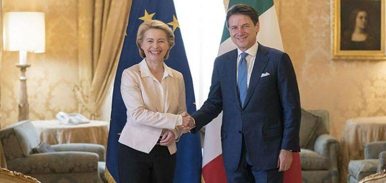 La Commissione europea promette di aiutare l'Italia
