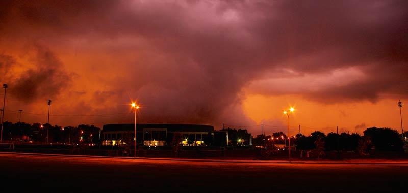 Stato del Tennessee devastato da un tornado