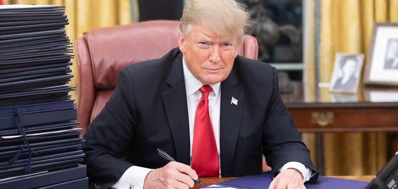 Trump non vuole riconoscere la gravita del Coronavirus