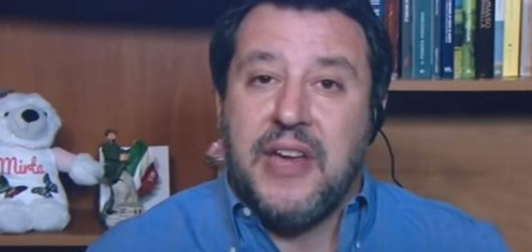 Matteo Salvini contrario alle poche concessioni del governo