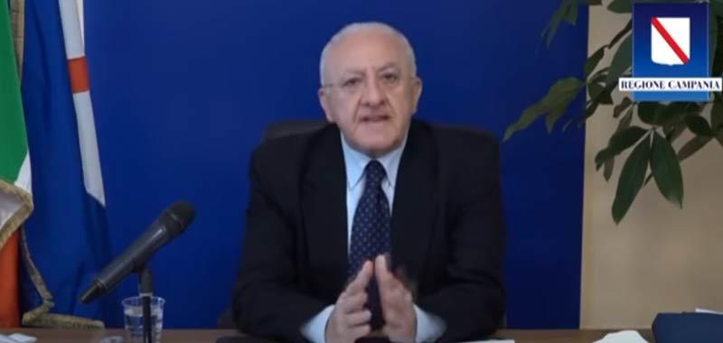 Vincenzo De Luca continua a provocare astio negli altri governatori