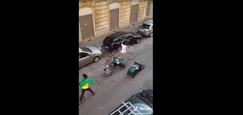 Torino una rissa in strada ultimo giorno della fase 1