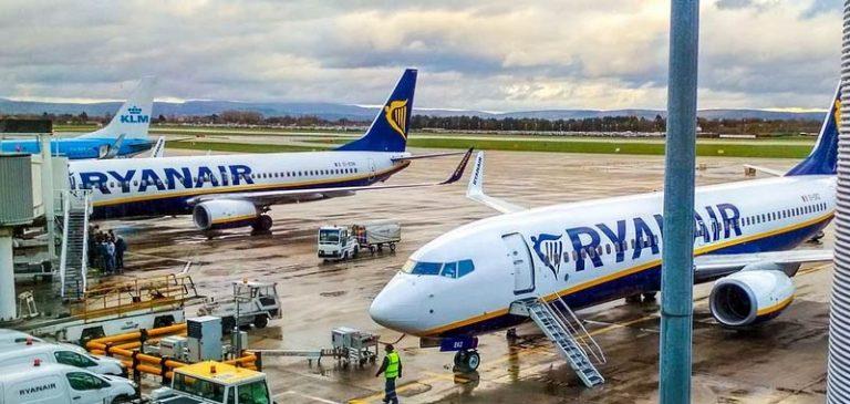 Ryanair ha deciso di diminuire i suoi voli