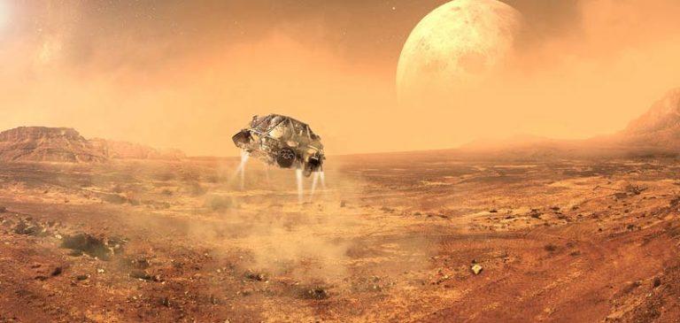 Chitina, servirà per portare la vita su Marte