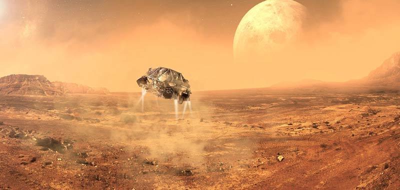 Chitina servira per portare la vita su Marte