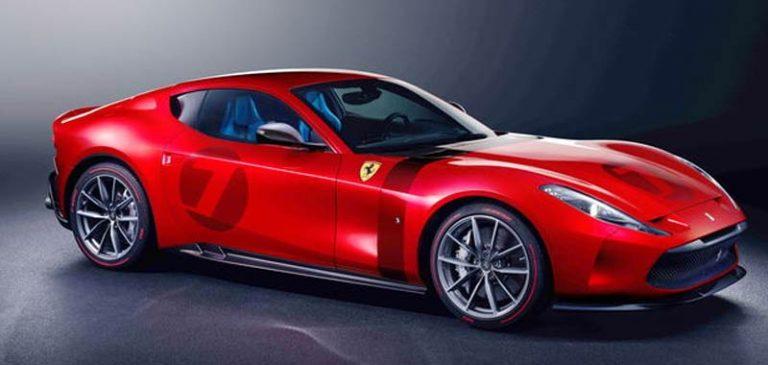Nuova Ferrari omologata 2020, con motore V12