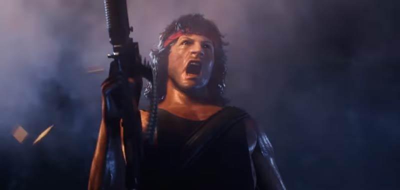 Mortal Kombat 11 arriva John Rambo