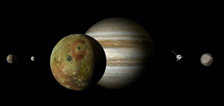 Registrato l'impatto vulcanico sulla luna di Giove