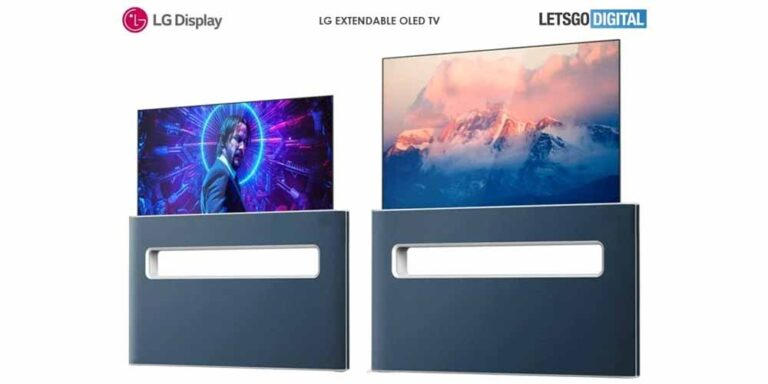 LG brevetta la smart tv retrattile