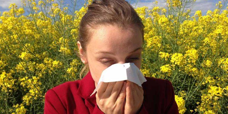 Quando l'allergia primaverile può tramutarsi in asma