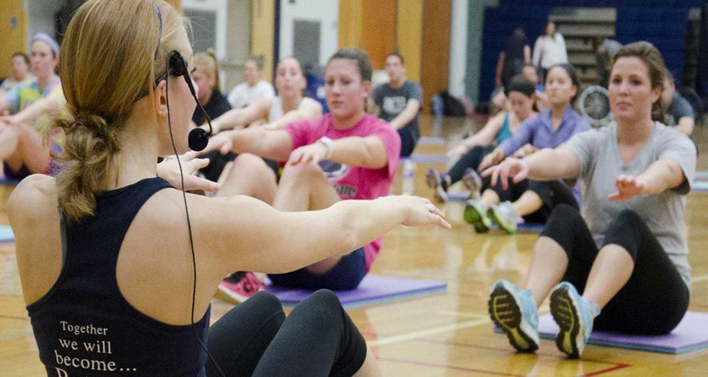 Fitness Chi sta in prima fila piu determinato